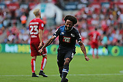 Derby Ikechi Anya (8) scores the first goal in the first half  during the EFL Sky Bet Championship match between Bristol City and Derby County at Ashton Gate, Bristol, England on 17 September 2016. Photo by Gary Learmonth.
