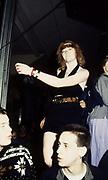 Dancing Woman with Bandana, High Wycombe, UK, 1980s.