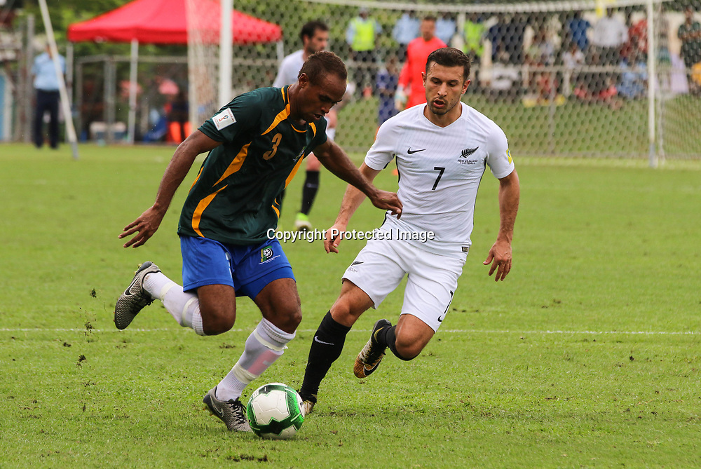 Kosta Barbarouses.<br /> Fifa World Cup Qualifier, Solomon Islands v New Zealand All Whites, Lawson Tama Stadium, Honiara, Solomon Islands, 5 September 2017. Photo: OFC Media / www.photosport.nz