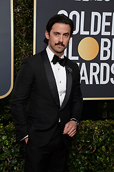 Milo Ventimiglia attending the 75th Annual Golden Globes Awards held at the Beverly Hilton in Beverly Hills, in Los Angeles, CA, USA on January 7, 2018. Photo by Lionel Hahn/ABACAPRESS.COM attending the 75th Annual Golden Globes Awards held at the Beverly Hilton in Beverly Hills, in Los Angeles, CA, USA on January 7, 2018. Photo by Lionel Hahn/ABACAPRESS.COM