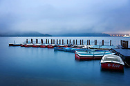 Boat Jetty at Sunmoon Lake of Taiwan