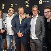NLD/Hilversum/20190131 - Uitreiking Gouden RadioRing Gala 2019, Sven van Veen,Rob van Someren en ......