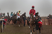 Heythrop Point to Point. At a  new course at Cocklebarrow near Aldsworth. 11 January 2014