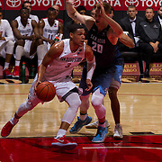 11 November 2016: The San Diego State Aztecs men's basketball team opens up the regular season against cross town rival University of San Diego Toreros. The Aztecs  beat the Toreros 69-59. www.sdsuaztecphotos.com