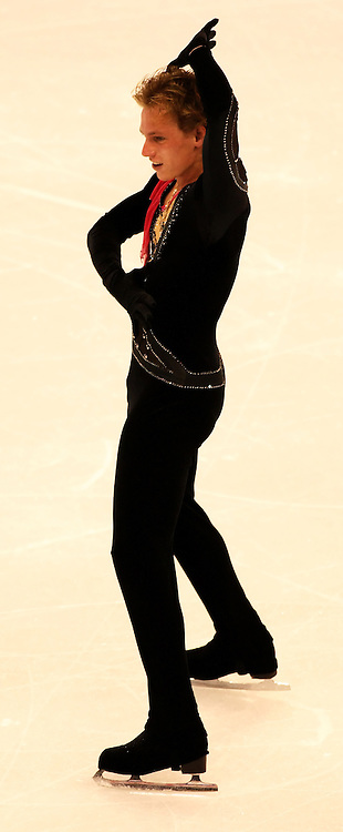 (Ottawa, ON---1 November 2008)  Sergei Voronov of Russia compete in the men's free skate at the 2008 HomeSense Skate Canada International figure skating competition. He finished sixth. Photograph copyright Sean Burges/Mundo Sport Images (www.msievents.com).