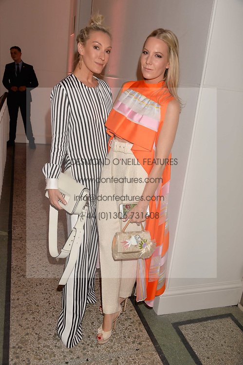 Olivia Buckingham and Alice Naylor-Leyland at the Tatler's English Roses 2017 party in association with Michael Kors held at the Saatchi Gallery, London England. 29 June 2017.<br /> Photo by Dominic O'Neill/SilverHub 0203 174 1069 sales@silverhubmedia.com