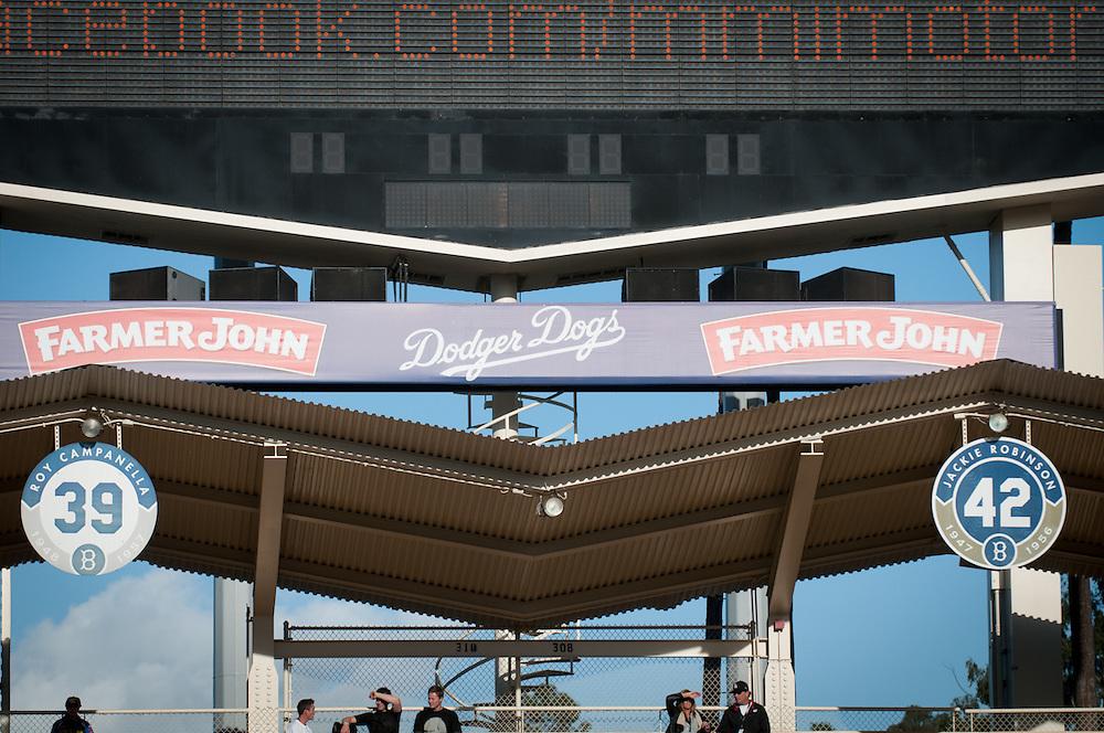 2012 Monster Energy AMA Supercross series.Dodger Stadium.Los Angeles, California.January 21, 2012