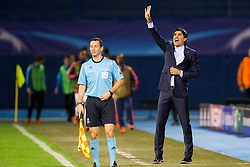 Zoran Mamic, head coach of GNK Dinamo Zagreb during football match between GNK Dinamo Zagreb and Olympiakos in Group F of Group Stage of UEFA Champions League 2015/16, on October 20, 2015 in Stadium Maksimir, Zagreb, Croatia. Photo by Urban Urbanc / Sportida