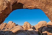 Arch Rock, Joshua Tree National Park, California.