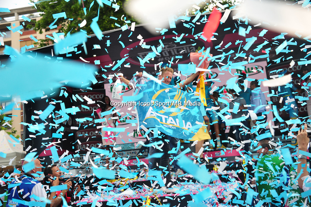 Joie Vinokourov Alexander - Astana - 31.05.2015 - Tour d'Italie - Etape 21 : Turin / Milan <br />Photo : Sirotti / Icon Sport *** Local Caption ***