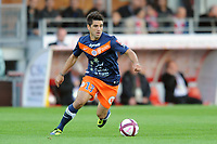 FOOTBALL - FRENCH CHAMPIONSHIP 2011/2012 - L1 - STADE BRESTOIS v MONTPELLIER HSC - 17/09/2011 - PHOTO PASCAL ALLEE / DPPI - MARCO ESTRADA (MON)