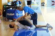 DESCRIZIONE : Folgaria Allenamento Raduno Collegiale Nazionale Italia Maschile <br /> GIOCATORE : Matteo Panichi Danilo Gallinari<br /> CATEGORIA : <br /> SQUADRA : Nazionale Italia <br /> EVENTO :  Allenamento Raduno Folgaria<br /> GARA : Allenamento<br /> DATA : 20/07/2012 <br /> SPORT : Pallacanestro<br /> AUTORE : Agenzia Ciamillo-Castoria/GiulioCiamillo<br /> Galleria : FIP Nazionali 2012<br /> Fotonotizia : Folgaria Allenamento Raduno Collegiale Nazionale Italia Maschile <br />  Predefinita :