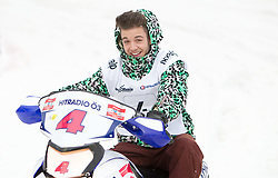 07.12.2014, Saalbach Hinterglemm, AUT, Snow Mobile, im Bild Luca Hänni // during the Snow Mobile Event at Saalbach Hinterglemm, Austria on 2014/12/07. EXPA Pictures © 2014, PhotoCredit: EXPA/ JFK