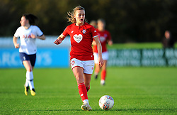 Charlie Wellings of Bristol City in action- Mandatory by-line: Nizaam Jones/JMP - 27/10/2019 - FOOTBALL - Stoke Gifford Stadium - Bristol, England - Bristol City Women v Tottenham Hotspur Women - Barclays FA Women's Super League