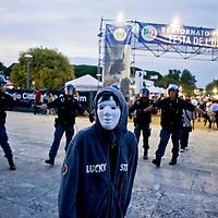 Manifestazione precari,cariche polizia