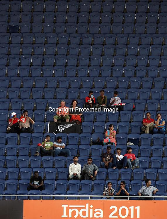 Fans. ICC Cricket World Cup 2011, New Zealand v Kenya at M. A. Chidambaram Stadium, February 20, 2011. Chennai, India. Photo: photosport.co.nz