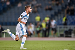 September 20, 2018 - Rome, Italy - Ciro Immobile of Lazio celebrates scoring second goal during the UEFA Europa League Group Stage match between Lazio and Apollon Limassol at Stadio Olimpico, Rome, Italy on 20 September 2018. (Credit Image: © Giuseppe Maffia/NurPhoto/ZUMA Press)