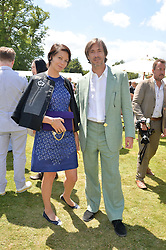 MARC NEWSON and CHARLOTTE STOCKDALE at the Cartier hosted Style et Lux at The Goodwood Festival of Speed at Goodwood House, West Sussex on 29th June 2014.