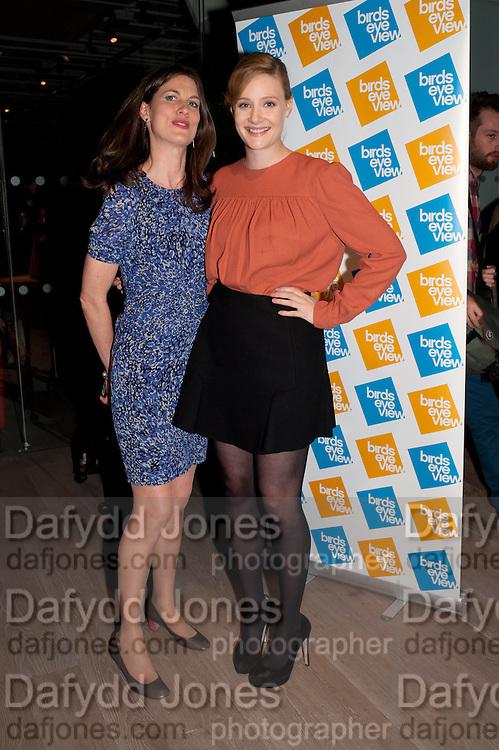 RACHEL MILLWARD; ROMOLA GARAI;- BIRDS EYE VIEW INTERNATIONAL WOMEN'S DAY  RECEPTION, BFI Southbank. London. 8 March 2012.