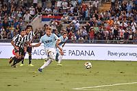 13.08.2017 - Roma - Supercoppa Italiana  -  Juventus-Lazio nella  foto: Ciro Immobile segna su rigore il gol dell '1 a 0