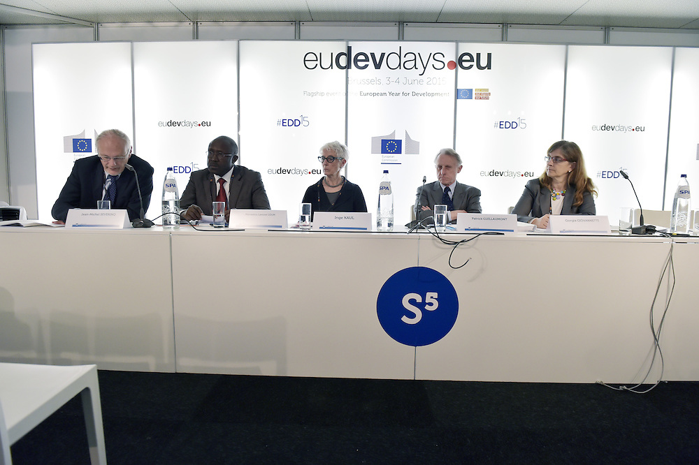 03 June 2015 - Belgium - Brussels - European Development Days - EDD - Financing - Financing sustainable development - Addressing vulnerabilities © European Union