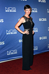 """17 September 2014. New Orleans, Louisiana.<br /> NCIS New Orleans. CBS Red carpet event at the WW2 Museum.<br /> Actor Zoe McLellan - """"Meredith 'Meri' Brody.""""<br /> Photo Credit; Charlie Varley/varleypix.com"""