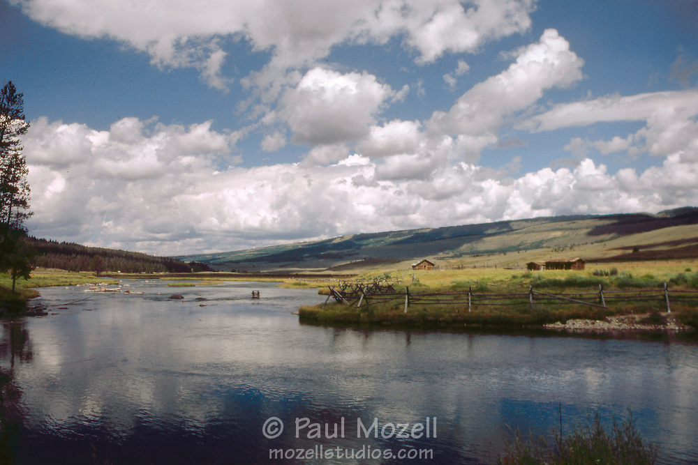 The headwaters of The Green River, in the foothills of The Wind River Range, Wyoming