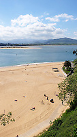 Beach, El Sardinero, Santander, Spain, May, 2015, 201505060755<br />
