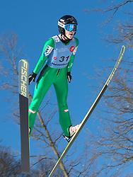 31.01.2015, Energie AG Skisprung Arena, Hinzenbach, AUT, FIS Ski Sprung, FIS Ski Jumping World Cup Ladies, Hinzenbach, Wettkampf im Bild Eva Pinkelnig (AUT) // during FIS Ski Jumping World Cup Ladies at the Energie AG Skisprung Arena, Hinzenbach, Austria on 2015/01/31. EXPA Pictures © 2015, PhotoCredit: EXPA/ Reinhard Eisenbauer