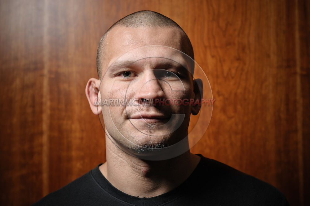 "A portrait of mixed martial arts athlete and actor Jess ""The Joker"" Liaudin"