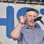 Speaker John Ashworth MP at Whitehall rally NHS at 70: Free, for all, forever on June 30th, 2018.