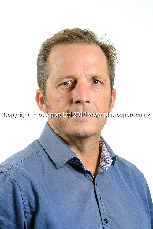 Greg Williamson, Basketball New Zealand Board Portraits, Wellington, New Zealand. Thursday 12 February 2015. Copyright Photo: Mark Tantrum/www.Photosport.co.nz