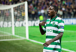 William Carvalho of Sporting after the football match between NK Maribor and Sporting Lisbon (POR) in Group G of Group Stage of UEFA Champions League 2014/15, on September 17, 2014 in Stadium Ljudski vrt, Maribor, Slovenia. Photo by Vid Ponikvar  / Sportida.com