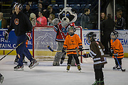 KELOWNA, CANADA - MARCH 01:  Mini Minor Game at the Kelowna Rockets game on March 01, 2017 at Prospera Place in Kelowna, British Columbia, Canada.  (Photo By Cindy Rogers/Nyasa Photography,  *** Local Caption ***