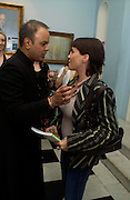 Dr. Nish Joshi and Sadie Frost. Book launch for Dr. Joshi's Holistic Dett. The Arts Club, 40 Dover st. London. 26 May 2005. ONE TIME USE ONLY - DO NOT ARCHIVE  © Copyright Photograph by Dafydd Jones 66 Stockwell Park Rd. London SW9 0DA Tel 020 7733 0108 www.dafjones.com