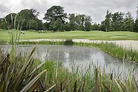 STAFFAN (Ierland) - K CLUB bij Dublin, de golfbaan waar in 2006 de Ryder Cub wordt gespeeld. Hole 13