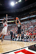LOUISVILLE, KY - DECEMBER 2: John Jenkins #23 of the Vanderbilt Commodores shoots against the Louisville Cardinals at KFC Yum! Center on December 2, 2011 in Louisville, Kentucky. Louisville defeated Vanderbilt 62-60 in overtime. (Photo by Joe Robbins) *** Local Caption *** John Jenkins