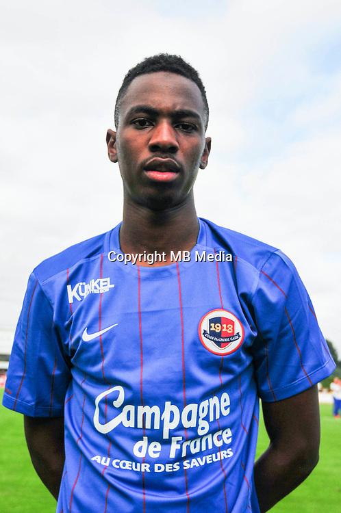 Jordan Nkololo - 14.07.2015 - Caen / Le Havre - Match amical -Bayeux<br /> Photo : Philippe Le Brech / Icon Sport
