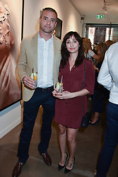 Natalie Imbruglia and Matt Field at the launch of the new JD Malat Gallery, 30 Davies Street, London, England. 05 June 2018.