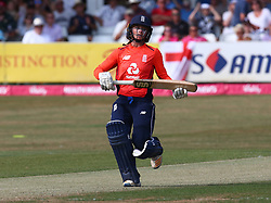 July 1, 2018 - London, Greater London, United Kingdom - Danni Wyatt of England Women.during International Twenty20 Final match between England Women and New Zealand Women  at The Cloudfm County Ground, Chelmsford, England on 01 July 2018. (Credit Image: © Kieran Galvin/NurPhoto via ZUMA Press)