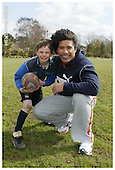 Sale Sharks Premier rugby camp at Altrinham and Kersal. Pics with Players