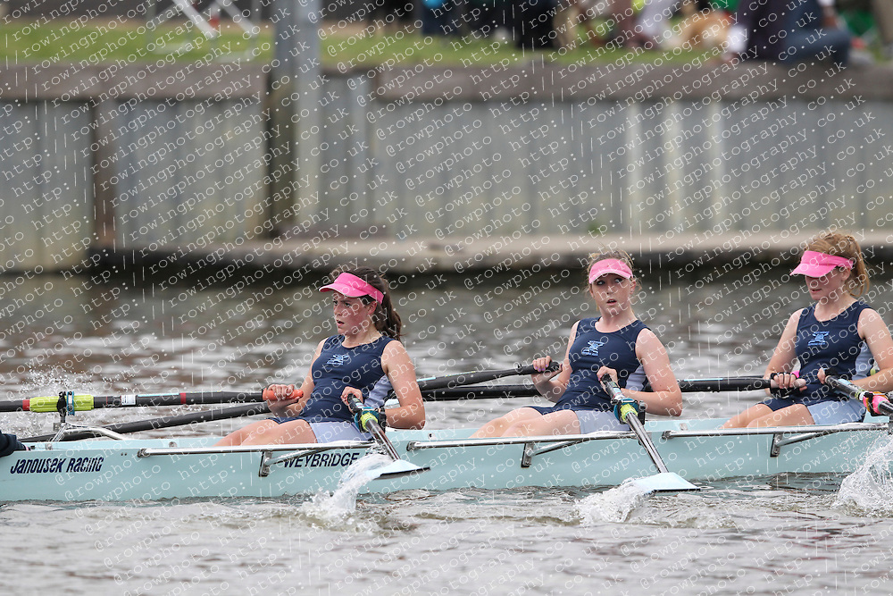 2012.09.29 Wallingford Long Distance Sculls 2012. Division 3. W.J15A 4x+. Weybridge Rowing Club.