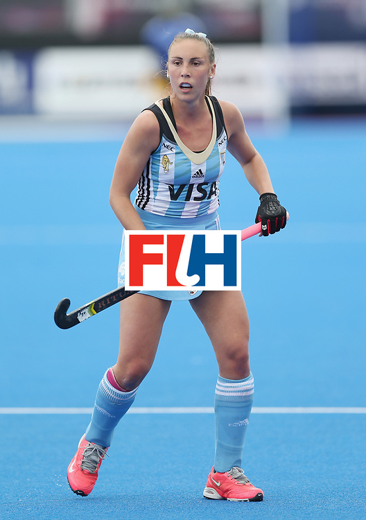 LONDON, ENGLAND - JUNE 21:  Florencia Habif of Argentina during the FIH Women's Hockey Champions Trophy match between Australia and Argentina at Queen Elizabeth Olympic Park on June 21, 2016 in London, England.  (Photo by Alex Morton/Getty Images)