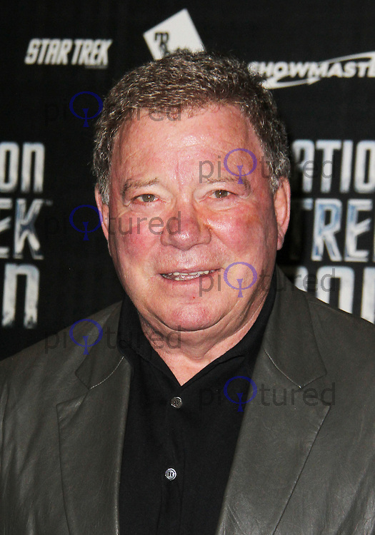 LONDON - OCTOBER 19: William Shatner attended 'Destination Star Trek London' at the ExCel Centre London, UK, October 19, 2012. (Photo by Richard Goldschmidt)