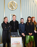 Oslo, 11-12-2016  <br /> <br /> Nobel Peace Concert artist press conference  at the Nobel Insitute .<br /> <br /> Conan O'Brien, Sting, Juanes, Icona Pop,Highasakite and Marcus &amp; Martinus<br /> <br /> COPYRIGHT ROYALPORTRAITS EUROPE/ BERNARD RUEBSAMEN