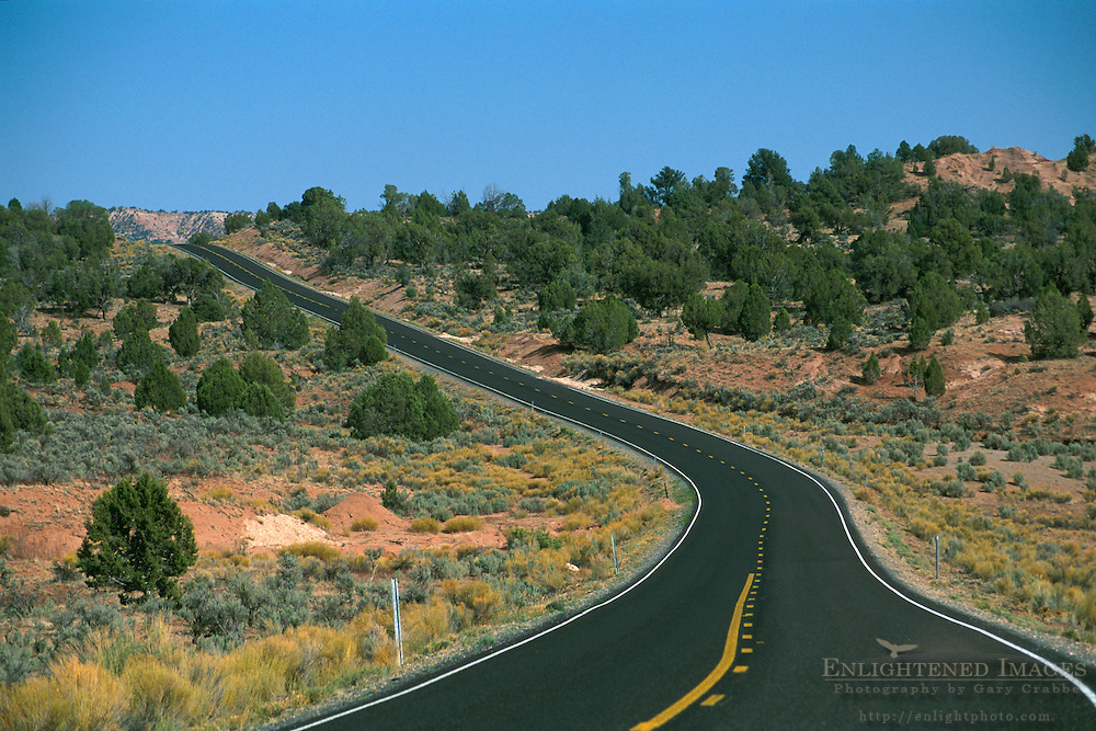 Scenic Byway to Kodachrome Basin near Cannonville, Bryce Canyon area, UTAH