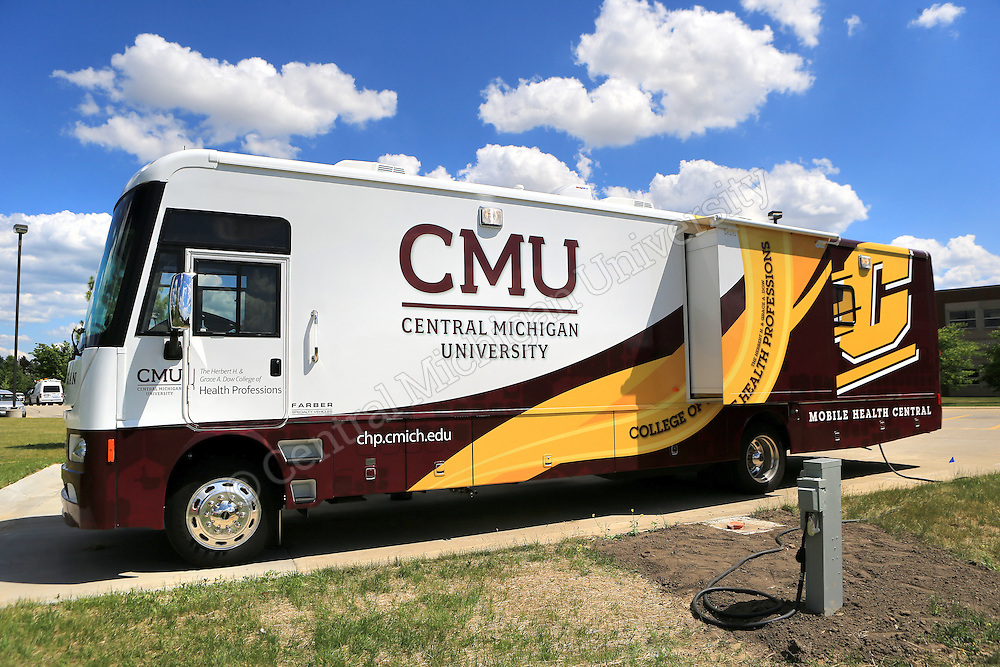 Mobile Health Central arrives | Central Michigan University Photo Store