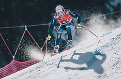 24.01.2020, Streif, Kitzbühel, AUT, FIS Weltcup Ski Alpin, SuperG, Herren, im Bild Emanuele Buzzi (ITA) // Emanuele Buzzi of Italy in action during his run for the men's SuperG of FIS Ski Alpine World Cup at the Streif in Kitzbühel, Austria on 2020/01/24. EXPA Pictures © 2020, PhotoCredit: EXPA/ JFK