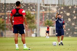 Bristol City head coach Lee Johnson gives instructions to his players - Mandatory by-line: Matt McNulty/JMP - 21/07/2017 - FOOTBALL - Tenerife Top Training Centre - Costa Adeje, Tenerife - Pre-Season Training