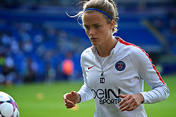 01.06.2017, Cardiff Stadium, Cardiff, WAL, UEFA CL, Damen, Olympique Lyon vs Paris Saint Germain, Finale, im Bild Irene Paredes of Paris Saint-Germain Féminines warms up // Irene Paredes of Paris Saint-Germain Féminines warms up during the UEFA Womens Champions League Final Match between Olympique Lyon and Paris Saint Germain at the Cardiff Stadium in Cardiff, Great Britain on 2017/06/01. EXPA Pictures © 2017, PhotoCredit: EXPA/ Focus Images/ Kristian Kane<br /> <br /> *****ATTENTION - for AUT, GER, FRA, ITA, SUI, POL, CRO, SLO only*****